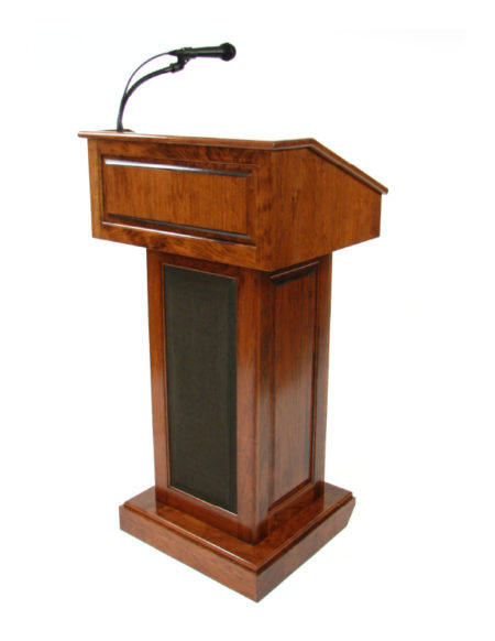 Counselor Lectern with Sound
