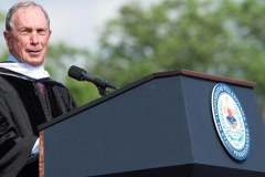 Mayor Bloomberg - Villanova University Commencement behind Presidential Plus - 2017