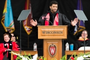 Commencement Ceremony at Camp Randall Stadium