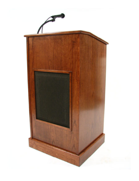 Collegiate Lectern with Sound