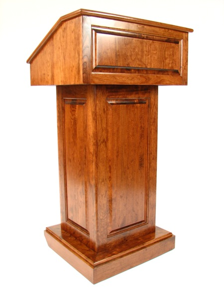 Counselor Lectern/Podium Cherry