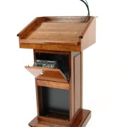 Counselor Podium with Sound System