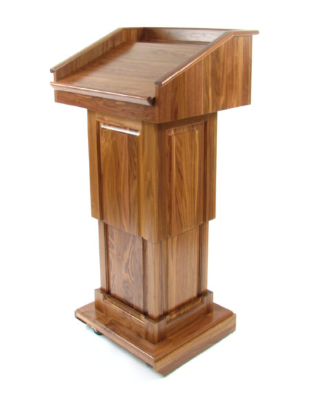 Height Adjustable Counselor Lectern