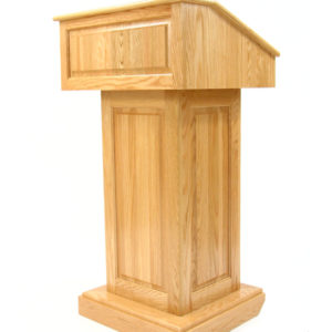 Counselor Oak Lectern