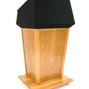 Presidential Bulletproof Natural Cherry Lectern