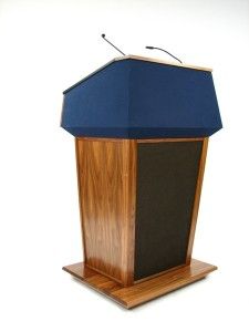 Presidential Lectern/Podium with Sound